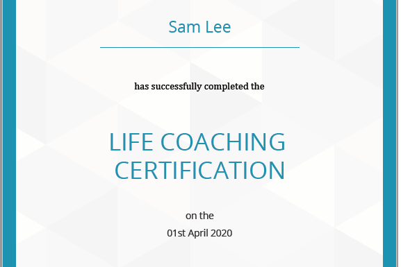 Certified Life Coach Qualification